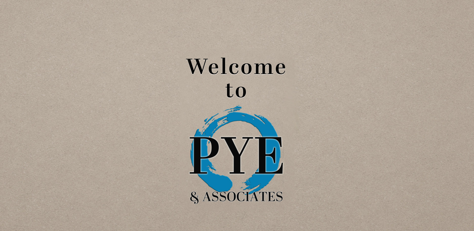 Welcome to Pye & Associates